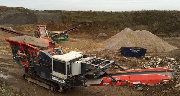 Crusher and screener training