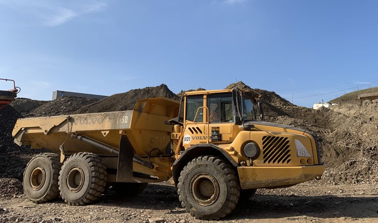 Dump Truck Articulated Chassis