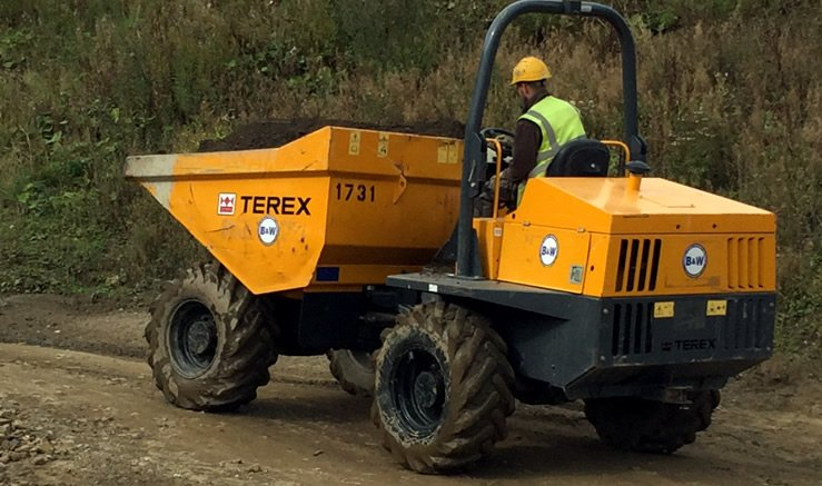 Wheeled, Forward Tipping Dumper Training